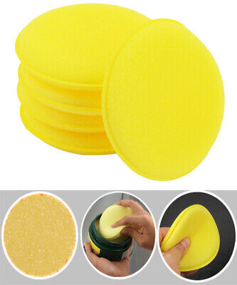 12pcs Waxing Polish Foam Car Spong Cleaning Detailing Pads Wax Applicator