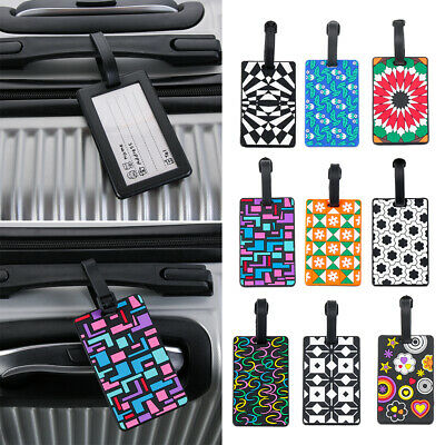 Portable Travel Tags Silicone Luggage Label Suitcase Identifier Address Holder
