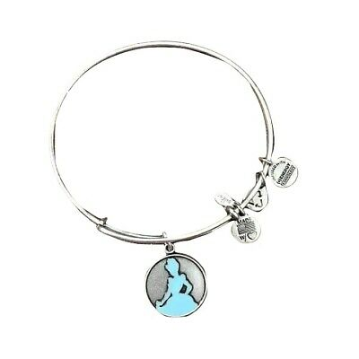 Disney Alex And Ani Bracelet - Cinderella Silhouette - Silver RETIRED
