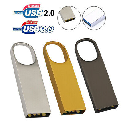 64GB 32GB Metal USB 3.0/2.0 Flash Drives Memory Stick Storage Pen Drive U Disk
