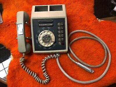 1966 Western Electric grey Card dialer telephone in great shape!!