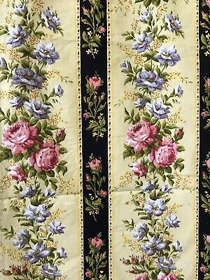 Vintage French Shabby Chic Pretty Stripe Fabric reworking project 40/120cms