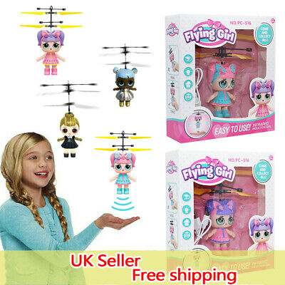 Flying Girls Surprise Doll Magic Infrared Induction Control Toy Princess Gifts