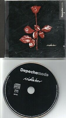 Depeche Mode Rare French Cd Violator Pm 518