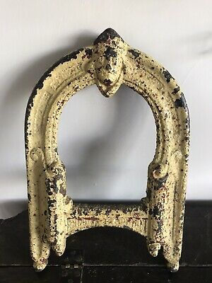 Antique Cast Iron Boot Scraper Victorian Edwardian