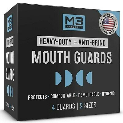 Guard Protector Mouthpiece Teeth Grinding Anti Grind Dental Mouthguard Sport NEW