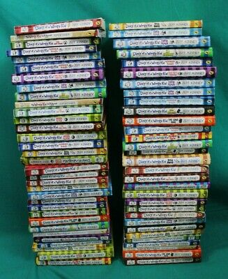 Job Lot 60+ Jeff Kinney Diary of a wimpy kid Book collection (Hospiscare)