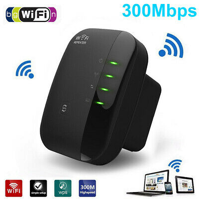 Wifi Signal Range Booster Repeater Wireless Router Network Extender UK Plug 2.4G