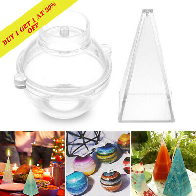 Candle Molds Candle Making Mould Handmade Soap Molds Clay DIY Craft Tools