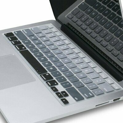 """HOT Keyboard Cover Case Silicone Protector For MacBook Air/Pro 13"""" Touchbar CU"""