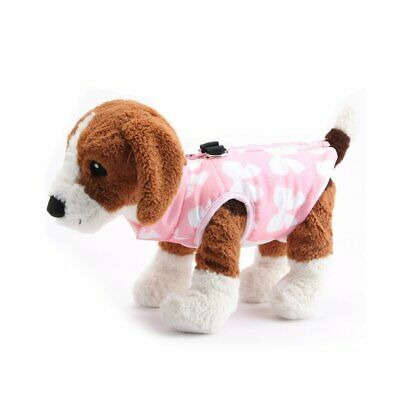 HOT Pet Dog Soft Padded Vest Coat Cat Puppy Doggy Warm Jacket Clothes Apparel CU