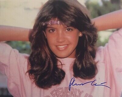 "Phoebe Cates Signed Color Photo Coa ""Fast Times At Ridgemont High"""
