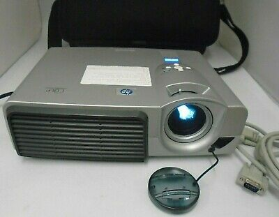 HP Digital Portable DLP Projector Model VP6111 With Case, Mains Lead & Cable