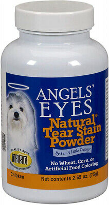 ANGELS' EYES Chicken Formula Tear-Stain Remover for Dogs, 75 g 75-Gram