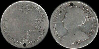 Great Britain: 1707 Queen Anne 1/- One Shilling