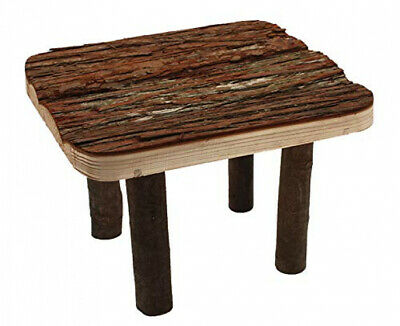 """""""Nature First"""" Wooden Platform Toy for Small Animal Habitats One Size"""