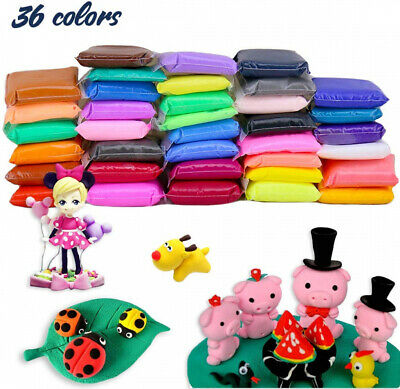 BBLIKE Polymer Clay, 36 Colors Modeling Air Dry Clay Soft Set 36