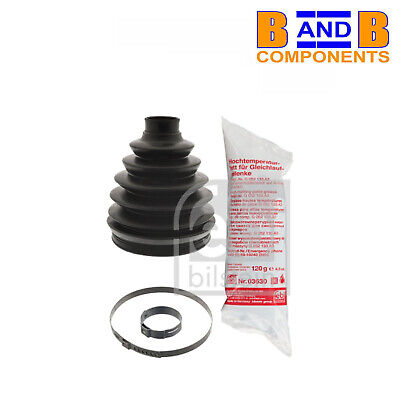 AUDI A5 8T 2.0D CV Joint Boot Kit Front Outer 11 to 17 1163030RMP C.V Firstline