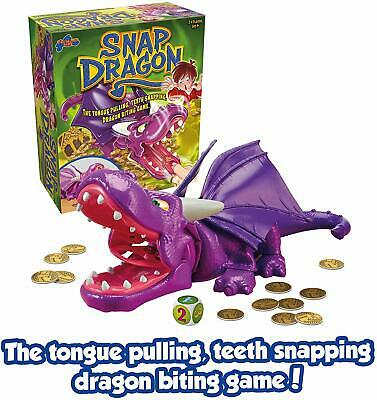 Drumond Park Snap Dragon Kids Board Game DARE TO PULL THE DRAGON'S TONGUE?