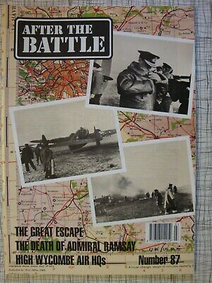 After The Battle # 87 (Great Escape, Stalag Luft 3, Admiral Ramsay, RAF PoW WW2)