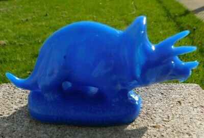 Mold-A-Rama Triceratops - Blue - Field Musuem - Chicago - Free Shipping