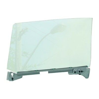 66 - 67 GTO Door Window Glass Assembly - Clear / Right / Passenger Side