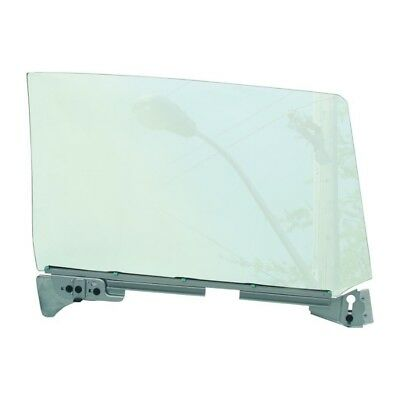 66 - 67 GTO Door Window Glass Assembly - Clear / Left / Driver Side