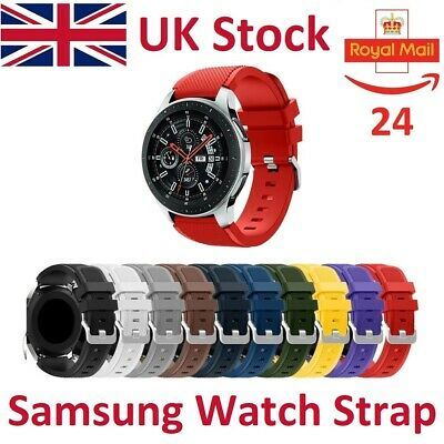 Silicone Bracelet Strap Watch Band For Samsung Gear S3 Frontier Classic 46mm