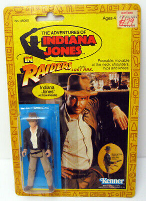 Kenner 1982 Indiana Jones Raiders Of The Lost Ark Action Figure Carded Harrison