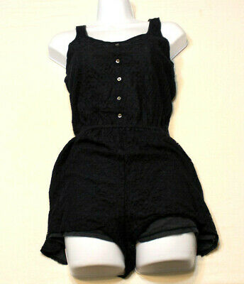 Abercrombie & Fitch Small Romper Shorts One Piece Sleeveless