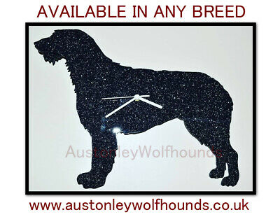 Small Wall Clock Any Breed Dog Gift Sparkle Pet Memorial Mirror Design Your Own