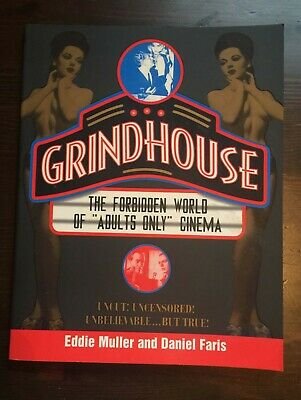 Grindhouse by Eddie Muller 1996 SEXY EXPLOITATION HORROR Cult Movie book