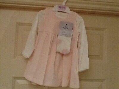 NEW 3 - 6 months baby girl dress a