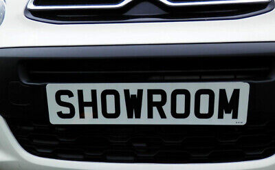 Showroom Show Display Number Plate Suction Cups Low Profile 35Mm Both Sides...