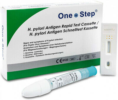 Prima Home Test Helicobacter Pylori Stomach Tester Eur 16