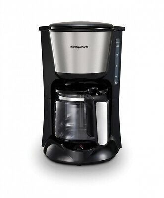 Morphy Richards 162501 Equip Filter Coffe Machine Pour Over Technology Silver