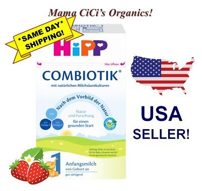 ***FREE EXPEDITED SHIPPING!*** HiPP Stage 1 Organic First Infant Milk Combiotic