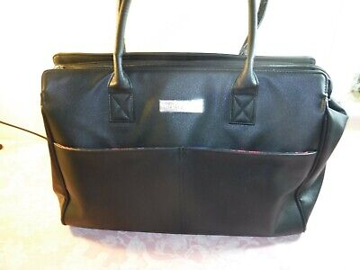 MARY KAY Large Black Standing TOTE ~  CONSULTANT Supply BAG/CASE- VERY NICE!