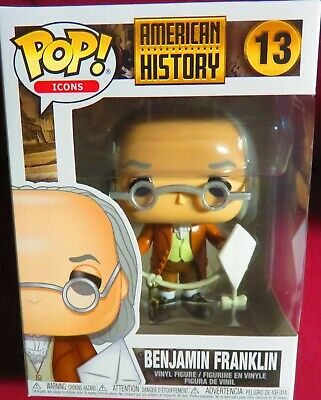 "Brand New Pop ""Icons"",  American History, ""Benjamin Franklin, #13   In Hand"