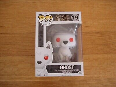 Funko POP! Game of Thrones #19, Ghost, New in Box