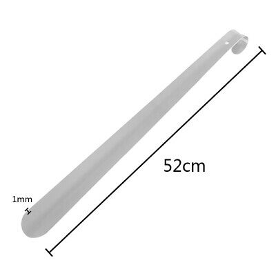 52cm Extra Long Stainless Steel Shoe Horn Metal Boot Remover Disability
