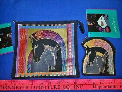 Laurel Burch Bag And Coin Purse New With Tags Horses