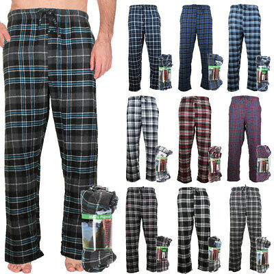 Rugged Frontier Men's Flannel Plaid Lounge Sleep Bottom Pajama Pants