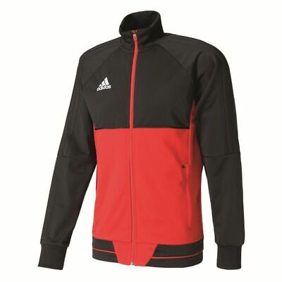 Adidas Mens Tiro 17 Football Training Jacket Full Zip Track Top Sports Black ...