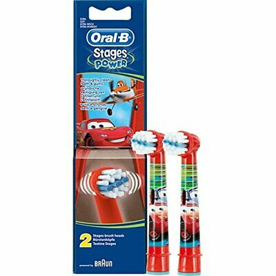 Oral-B Stages Cars Twin Pack Heads
