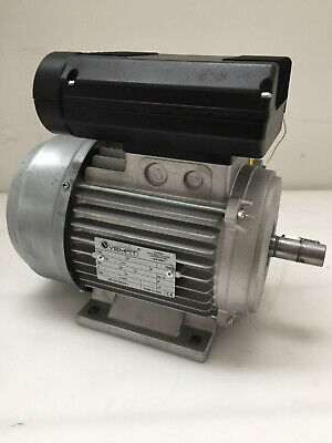 VEMAT Electric Compressor Motor 1.5kw Single Phase 2 Pole 2800rpm 230v 80 frame