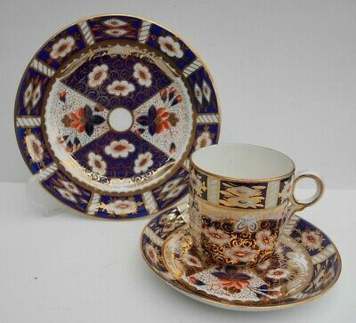 Bone China Cup Saucer Side Plate Hand Painted Gilt Imari Pattern Witches Eye 7