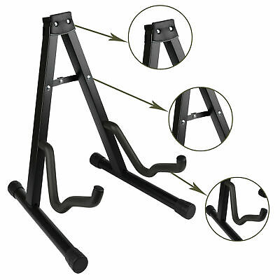 Guitar Stand Floor Holder Frame Acoustic Bass Folding Universal electric A frame