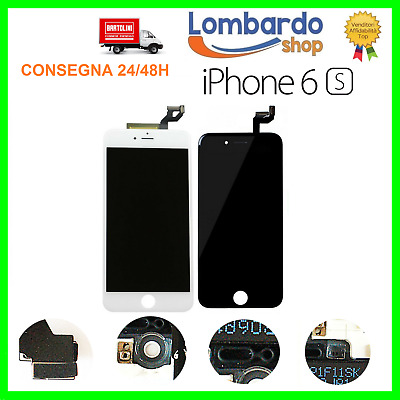 Lcd Per Apple Iphone 6S Nero Bianco Display Originale Tianma Touch Screen Frame