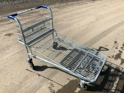 Flatbed diy garden Trolley picking warehouse